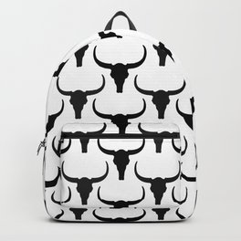 Deserted Land - Longhorn Skull Backpack