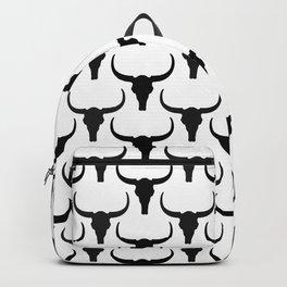 Deserted Land - Longhorn Skull Backpack