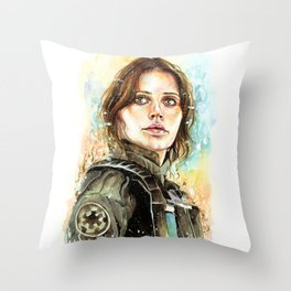 Rebel Throw Pillow