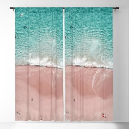 Pink Vacation Blackout Curtain
