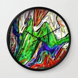 Misunderstood - Texture 7 Wall Clock