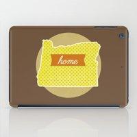 oregon iPad Cases featuring Oregon by Embellished Key