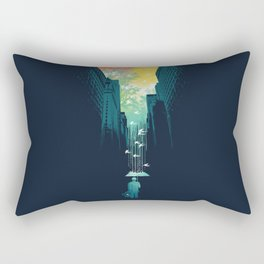 I Want My Blue Sky Rectangular Pillow