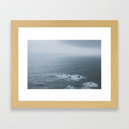 Great Coast Road Framed Art Print
