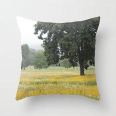 The Daisy Tree Throw Pillow