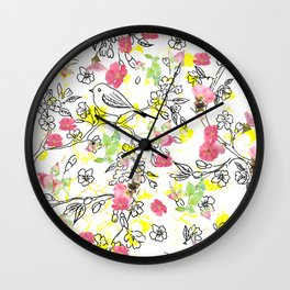 Heaven's Garden Wall Clock