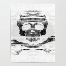 Bitter Bone Skull Poster