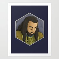 thorin Art Prints featuring Thorin by DodoRiv