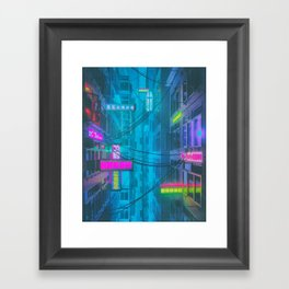 THOUSAND PERCENT SATURATED (everyday 02.11.18) Framed Art Print