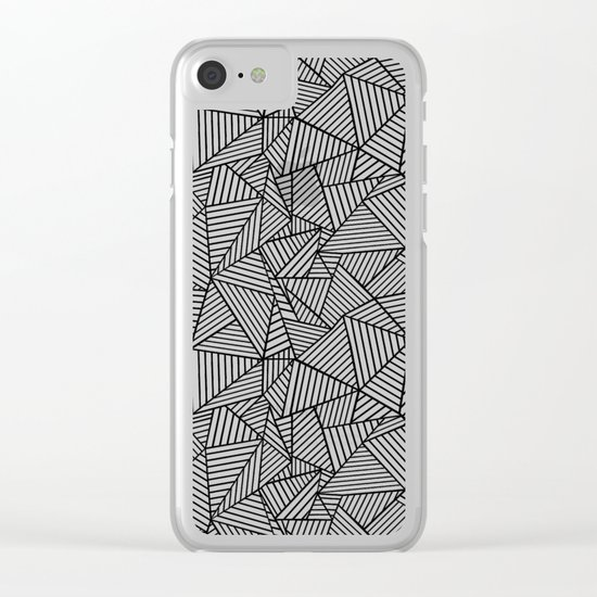 Ab 2 Repeat Clear iPhone Case