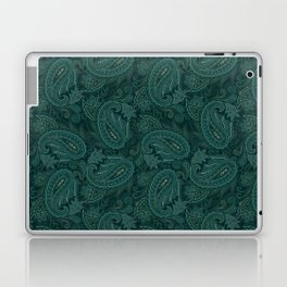 Meredith Paisley - Forest Green Laptop & iPad Skin