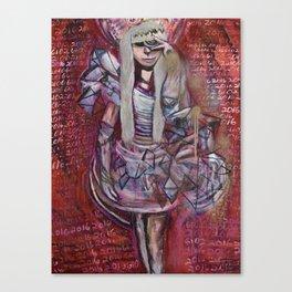 """Celebrity Worship"" by Lindsay Wiggins Canvas Print"