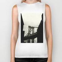 dumbo Biker Tanks featuring DUMBO by Camile O'Briant