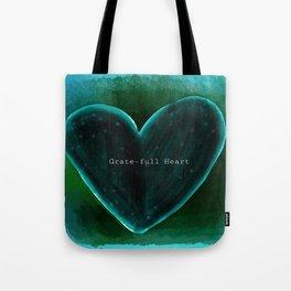 Grate-full Heart Tote Bag