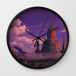 Offshore Data Haven Wall Clock