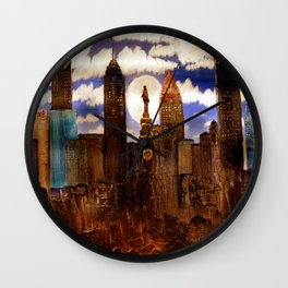 Out of the Muck Wall Clock