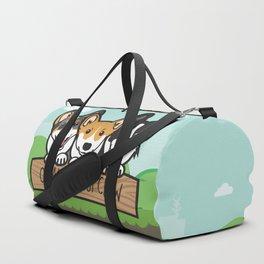 Omaha Corgi Crew Duffle Bag