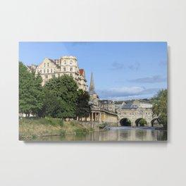 Poulteney bridge Bath 1 Metal Print