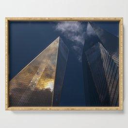 World Trade Center Serving Tray