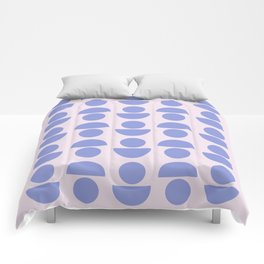 Shapes in Periwinkle Comforters