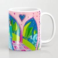 cinderella Mugs featuring Cinderella by Sandra Nascimento