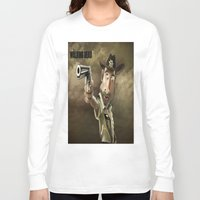 rick grimes Long Sleeve T-shirts featuring The Walking Dead | Rick Grimes by AnkitS