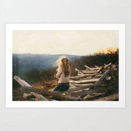 Into the wild.  Art Print