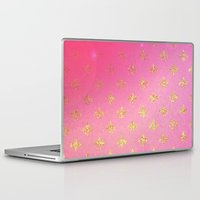 fleur de lis Laptop & iPad Skins featuring Fleur de Lis by Mr and Mrs Quirynen