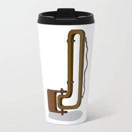 MACHINE LETTERS - J Travel Mug