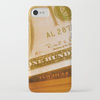 bill iPhone & iPod Cases featuring $bill by Nick Nichols
