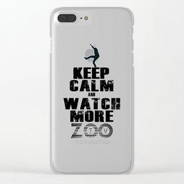 U2.keep zootv Clear iPhone Case