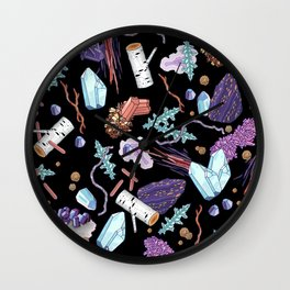 Treasures Wall Clock