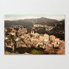 Les Baux de Provence Canvas Print