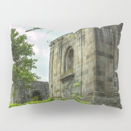 Santiago Apóstol Parish Ruins Pillow Sham