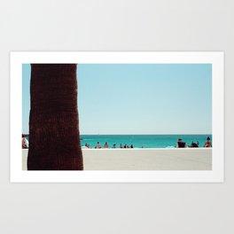 At the beach II Art Print