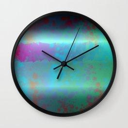 Retina sees color Wall Clock