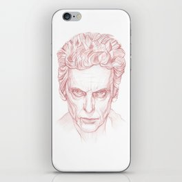 Peter Capaldi as Doctor Who, Twelfth Doctor iPhone Skin