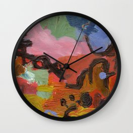 ColourAbstract Wall Clock