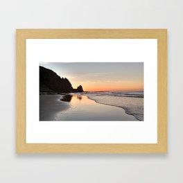 Sunrise at Black Rock, Luz-Lagos, Portugal Framed Art Print
