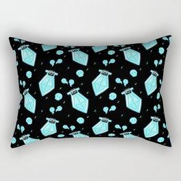 Rogue Potion - Blue Rectangular Pillow