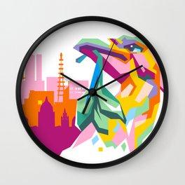 LIVERBIRD WPAP Wall Clock