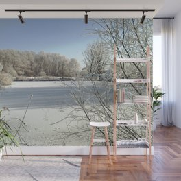 Winter in the Netherlands. Wall Mural