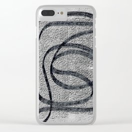 PiXXXLS 108 Clear iPhone Case
