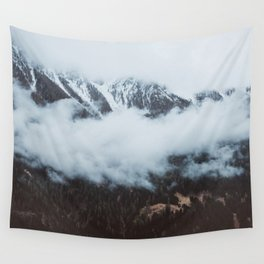 On a cloudy day - Landscape and Nature Photography Wall Tapestry