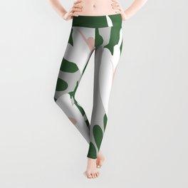 Grey green bloomers Leggings