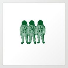 Astro Amigos Art Print