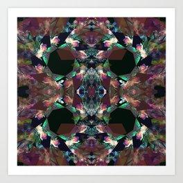 Kalido Negative Art Print