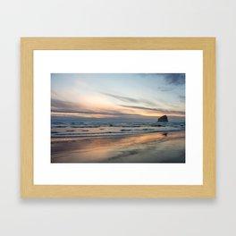 Pacific Glow Framed Art Print