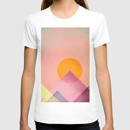 Sun in the mountains T-shirt