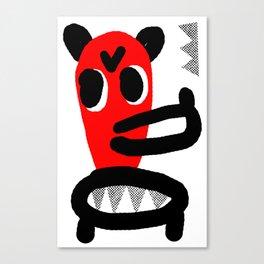 LONG MUZZLE Canvas Print